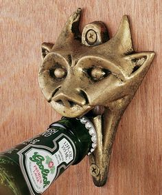 Another great find on #zulily! Gargoyle Wall-Mounted Bottle Opener by Design Toscano #zulilyfinds