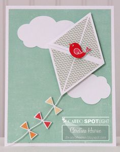 Kite Card - Two Peas in a Bucket
