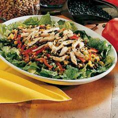Chicken and Black Bean Salad--a favorite