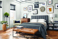 The living room is the main room with regards to decorating as well as allows that you should build the reasoning all through the home. Mixing furniture styles living room is the perfect starting point. Modern Bedroom Furniture, Contemporary Bedroom, Home Decor Bedroom, Living Room Furniture, Modern Contemporary, Modern Beds, Modern Living, Modern Room, Bedroom Red