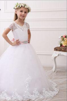 Girls Formal Dresses, Flower Girl Dresses, Wedding Dresses, Fashion, Bride Dresses, Moda, Bridal Gowns, Fashion Styles