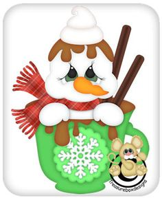 Build A Snowman, Snowman Crafts, Christmas Crafts, Christmas Ornaments, Wood Crafts, Paper Crafts, Snow Place, Snow Fairy, Hello Winter