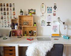Home Office em Berlim de Debbie Corrano e Felipe Pacheco - Blog Pequenos Monstros;