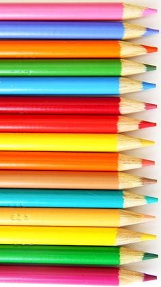 Colorful Pencils ★ Download more Back to School #iPhone + #Android Wallpapers / Backgrounds at @prettywallpaper