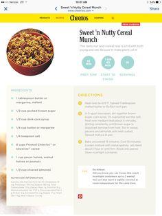 Sweet & Crunchy Cheerios 2016