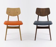 The 'C 275' side chair was designed in 1957 and first appeared in the Jens Risom Design 'Contemporary Furniture Catalog Supplement' of that year.
