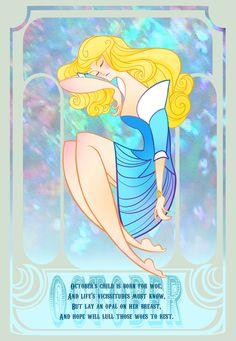 Disney Gems- October by *spicysteweddemon on deviantART