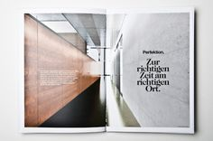 Am Fleischmarkt 1 - corporate & web design by moodley brand identity , via Behance