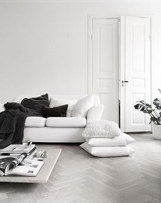 all white everything | interior inspiration