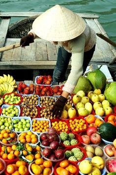 Drijvende markt in Vietnam, Heimwee is zo mooi die markt