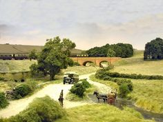 Pendon Museum, bringing the past to life - Abingdon, Oxfordshire Model Train Layouts, English Countryside, Us Images, Model Trains, Scale Models, The Past, Scenery, Country Roads, Landscape