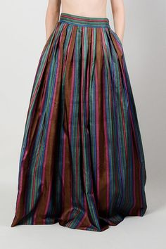 striped ball gown skirt - Google Search