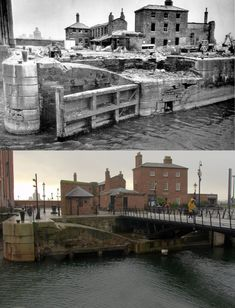 Albert Dock, Liverpool, and 2018 Liverpool Waterfront, Liverpool Town, Liverpool Docks, Liverpool History, Liverpool England, Old Pictures, Old Photos, 2nd City, Places To See