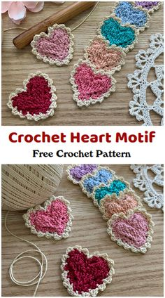 We are going to learn How to Crochet Heart Motif Pattern. This heart motif is quick and easy to make and only requires a small amount of size 10 thread! The finished size measures about 1 1/2″. Crochet Applique Patterns Free, All Free Crochet, Learn To Crochet, Crochet Motif, Crochet Baby, Free Pattern, Crochet Hearts, Easy Yarn Crafts, Crochet Earrings