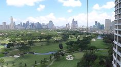 Manila Golf Course View From Eight Forbestown Road Megaworld BGC Philipp...