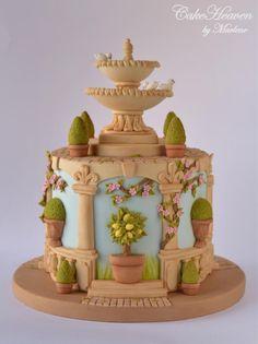 My Italian Garden Cake - Gardens of the world Collaboration - Cake by Marlene - CakeHeaven