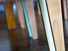 Rekindle is a fantastic social enterprise that transforms salvaged wood from an earthquake demolition site in Christchurch New Zealand into brilliant designer furniture.