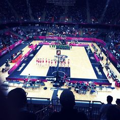 hanpot85's photo  of London 2012 Basketball Arena on Instagram