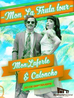 Mon Laferte & Caloncho - Auditorio Nacional - 30 de septiembre 2016