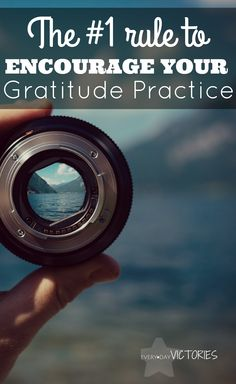 This #1 rule helped me instantly begin and continue a gratitude practice. It is the one change I needed to make. Plus, the examples given of things to be grateful truly encourage my own thankfulness. For instance, #25 is Therapists. :)