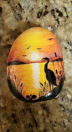 Bubble Painting, Seashell Painting, Stone Painting, Painting On Wood, Rock Painting Ideas Easy, Rock Painting Designs, Stone Crafts, Rock Crafts, Lotus Flower Pictures