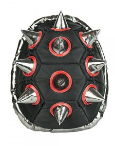 """BioDomes 19"""" Spiked Turtle Shell Backpack"""