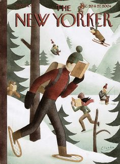 New Yorker is always tops with the magazine cover.