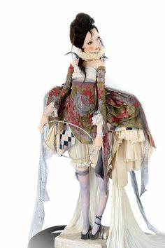 Art doll by Alisa Filippova