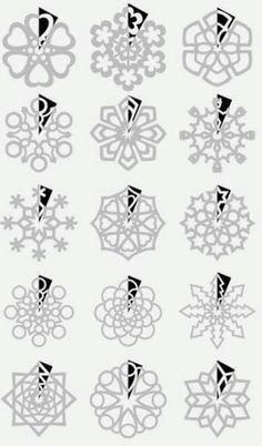 ¡Copos de nieve!