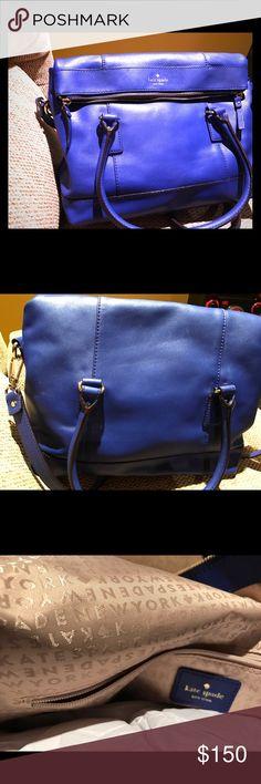 Kate Spade 2 way purse Brand new blue leather 2 way handbag. kate spade Bags Shoulder Bags