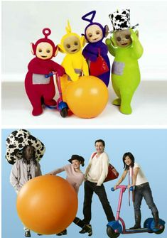 TELETUBBIES UNMASKED!!!!!!