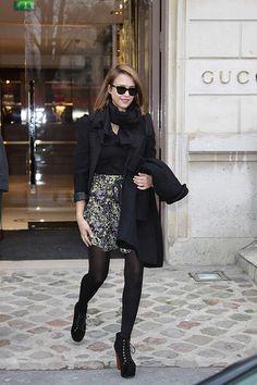 Jessica Alba Love the skirt