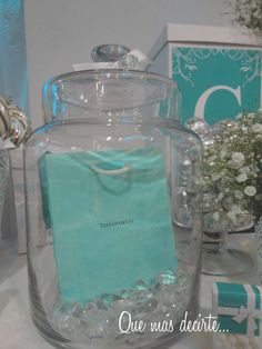TIFFANY & CO Quinceañera Party Ideas | Photo 32 of 68 | Catch My Party