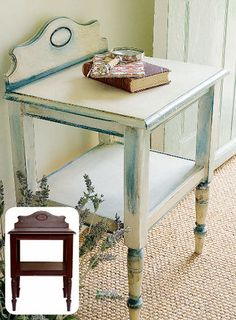 Painting expert Annie Sloan shows how to give furniture personality with her decorative #ChalkPaint! #DIY #furniture #makeover #dresser #home #decor