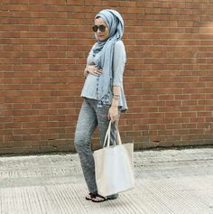 Dina tokio maternity style for the love of hijab. Muslim Fashion, Modest Fashion, Hijab Fashion, Pregnancy Outfits, Maternity Outfits, Maternity Skirts, Pregnancy Style, Maternity Clothing, Dina Tokio