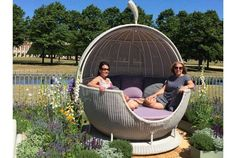 Give your a with our range at - Rattan Outdoor Furniture - Design Rattan Furniture Luxury Garden Furniture, Rattan Outdoor Furniture, Outdoor Furniture Design, Outdoor Decor, Online Furniture, Furniture Sets, Home Furnishings, Outdoor Range, Hampton Court