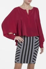 Great color! by @bcbgmaxazria #fashion #red #Valentines