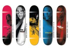 "Western Edition's ""Goto's Secrets"" Collections of skateboard decks"