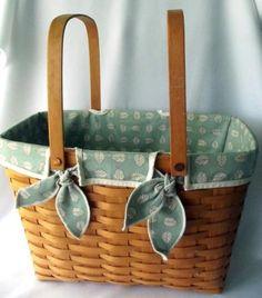 Longaberger Basket - Picnic Basket