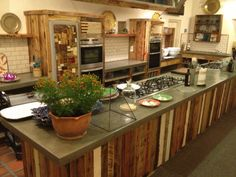 Rustic Kitchen from ballymaloe-cookery-school/