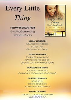 Calling All Bookaholics: Blog Tour - Every Little Thing By Samantha Young