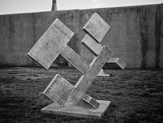 A sculpture in New Bern, NC