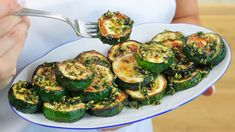 Tapas Recipes, Side Recipes, Mexican Food Recipes, Healthy Eating Recipes, Healthy Dishes, Vegetarian Recipes, Vegetable Side Dishes, Vegetable Recipes, Spiral Slicer Recipes