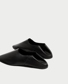 Image 5 of FLAT LEATHER SHOES from Zara