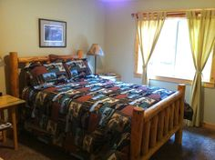 Main cabin features 3 bedrooms and 2 full baths. All bedrooms have comfortable queen beds.
