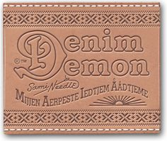 Denim Demon JeansHow can a pair of jeans be Sami?  For a people which for various reasons has been denied the opportunity to develop and maintain their cultural identity, arts and other personal expressions become a pure necessity. What you do, why you do it and what items you surround yourself with become key components in the story of your life.