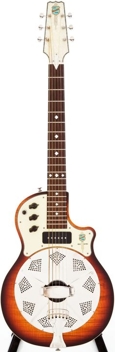 National Reso-Lectric guitar - I had one for awhile; it had to go but I want it again. Does the look of this thing not scream JB Eckl JB Eckl JB Eckl?? Well it does to me.