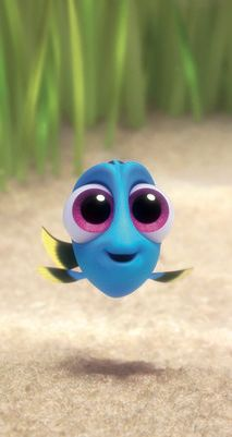 Finding Dory is the highest-grossing animated film debut! Probably due to how CUTE baby Dory is!! - more at megacutie.co.uk