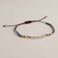 One of my favorite discoveries at WorldMarket.com: Arrow Bead Friendship Bracelet