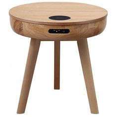 Great savings across our furniture range including this chic Jual San Francisco Oak Smart Charging & Speakers Lamp / Bedside Table Call Freephone on 0800 040 7719 Now, Hurry whilst stocks last. Smart Desk, Smart Table, Smart Furniture, Home Decor Furniture, Furniture Design, Speaker Table, Speaker Stands, Bedroom Setup, Tall Table